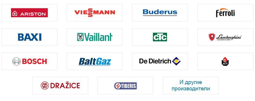 Фирмы производителей газовых котлов